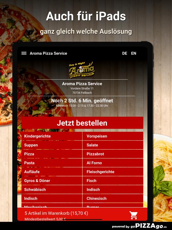 Aroma Pizza Service Fellbach screenshot 7