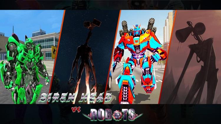 Siren Head Vs Robot Battle 3D screenshot-3