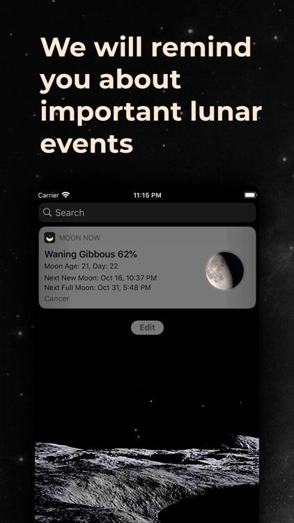 MoonX - Moon Phase Calendar screenshot-8
