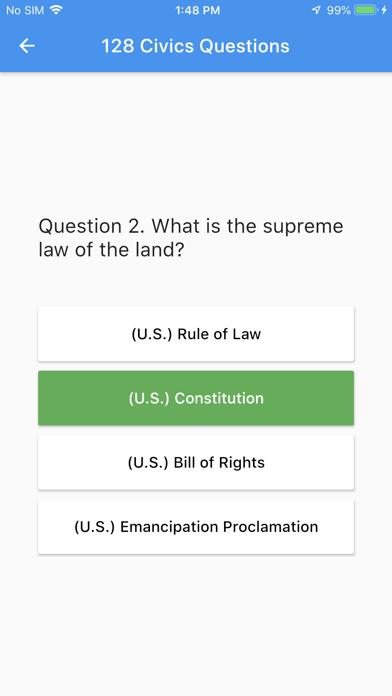 U.S. Citizenship Test 2021 screenshot 2