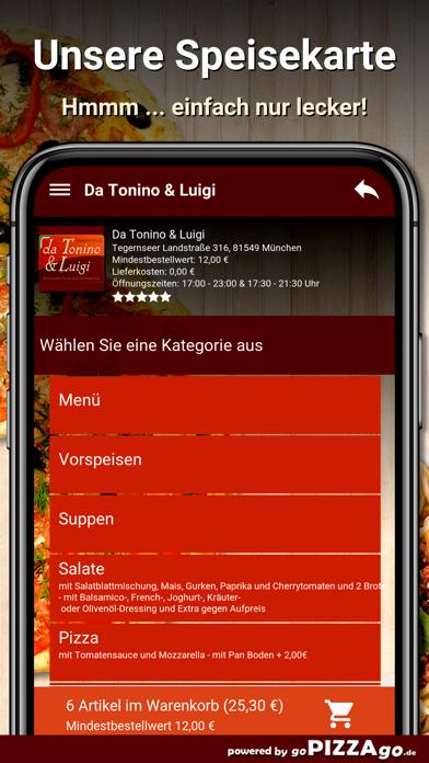Da Tonino Luigi München screenshot 2