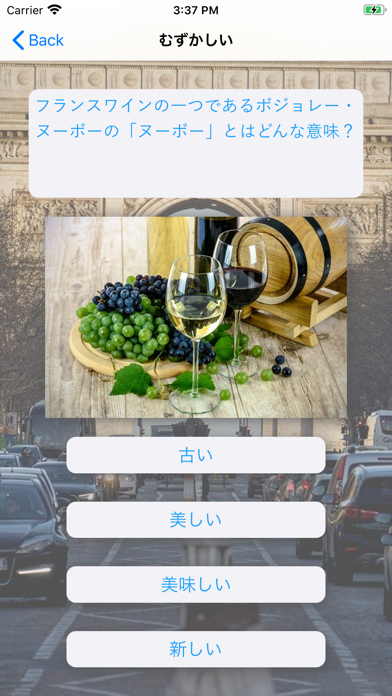 フレンチクイズ screenshot 4