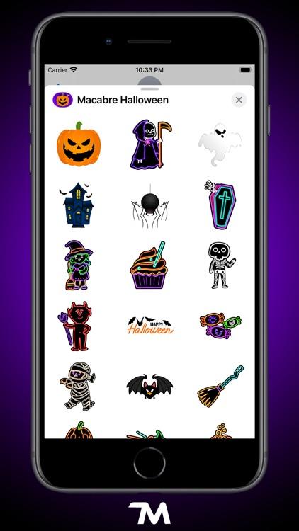 Macabre Halloween Stickers