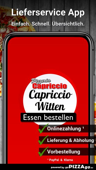 Pizzeria Capriccio Witten screenshot 1