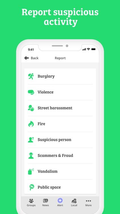 WeAlert - safer neighborhoods screenshot-5