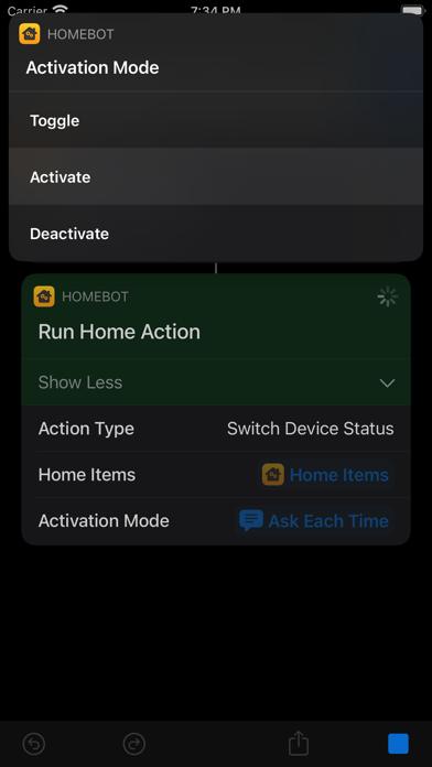 HomeBot for Shortcuts screenshot 10