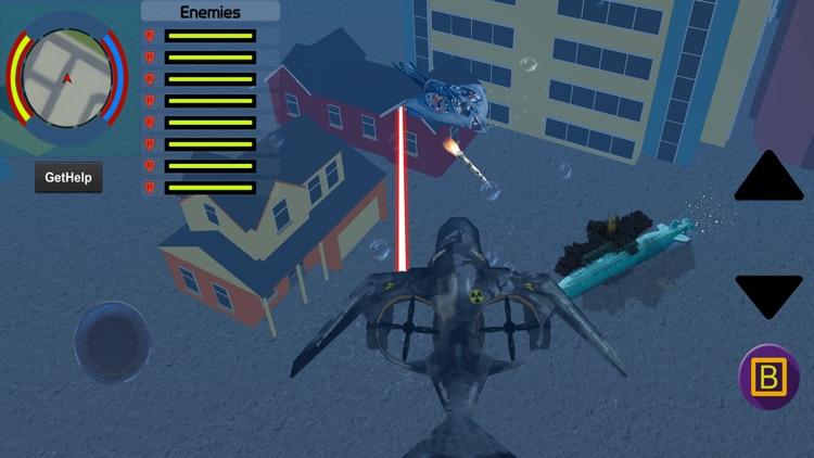 Shark Transformer - Robot wars