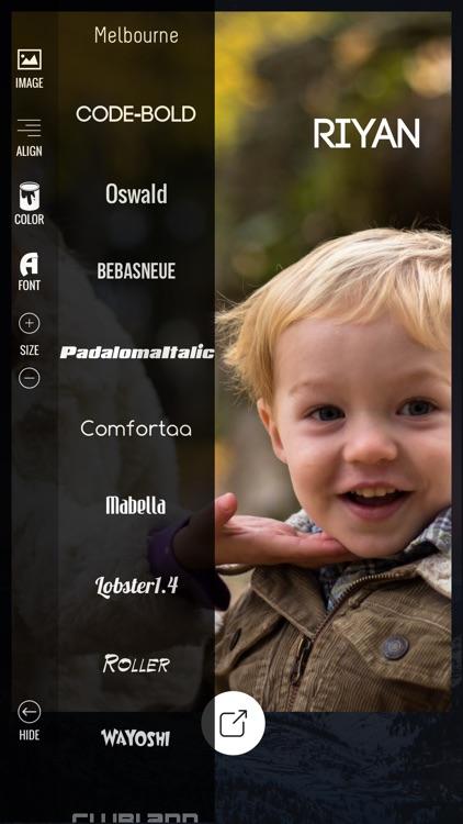 Add Text & Artwork to Photos screenshot-3