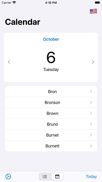 Name-days