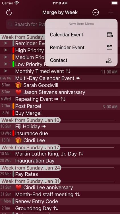 Merge Calendars and Reminders screenshot-7