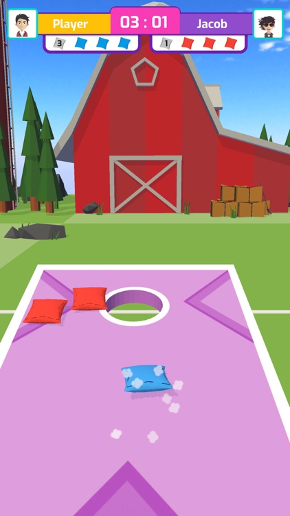 Corn Hole 3D screenshot-4