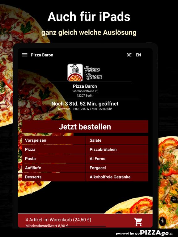 Baron Berlin Pizza screenshot 7