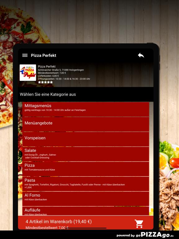 Pizza Perfekt Holzgerlingen screenshot 8