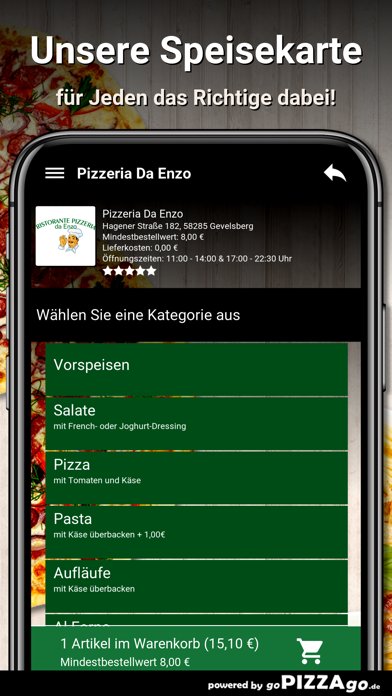 Pizzeria Da Enzo Gevelsberg screenshot 4