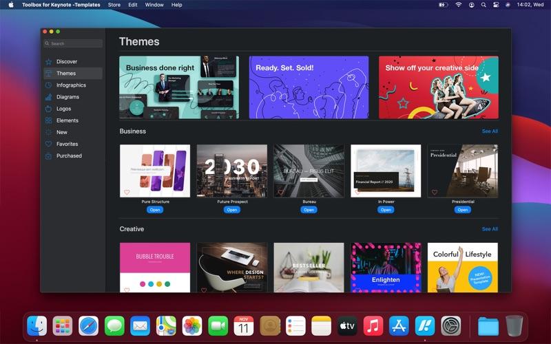 Toolbox for Keynote - 模板