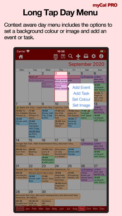 Events & Diary: myCal PRO Screenshots