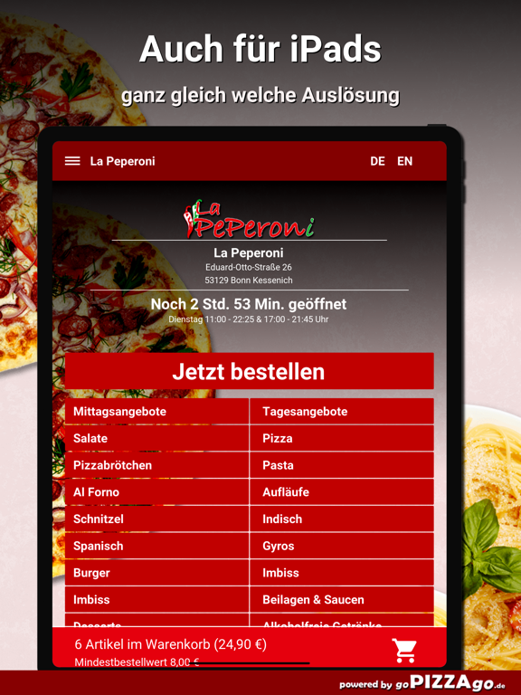 La Peperoni Bonn Kessenich screenshot 7