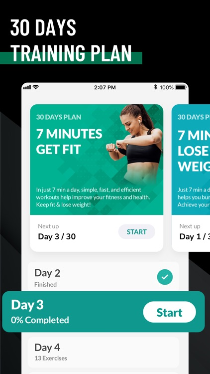 7 Minute Workout - Fitness App screenshot-3