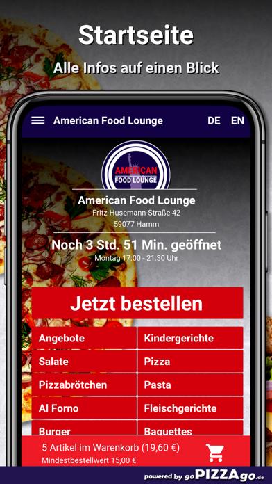 American Food Lounge Hamm screenshot 2