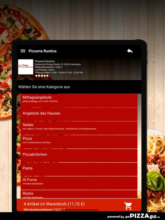 Pizzeria Rustica Heinsberg screenshot 8