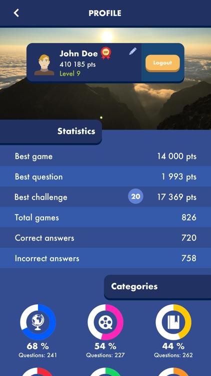 Trivial Quiz Pursuit Knowledge screenshot-4