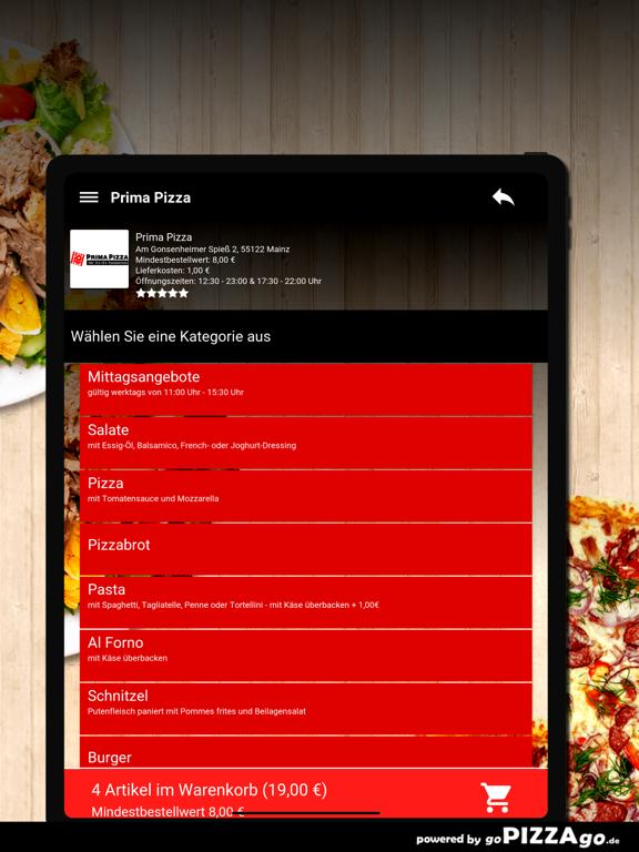 Prima Pizza Mainz screenshot 8