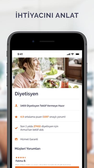 Armut - Hizmet Piş, Ağzıma Düş iphone ekran görüntüleri