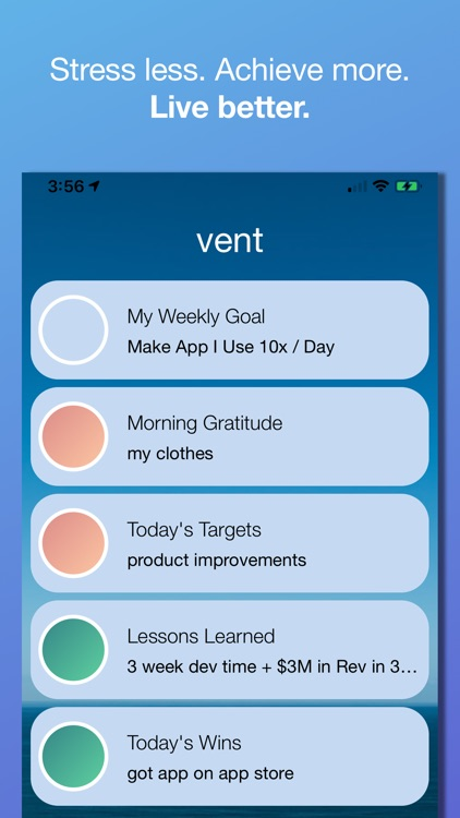 Vent - Guided Journal