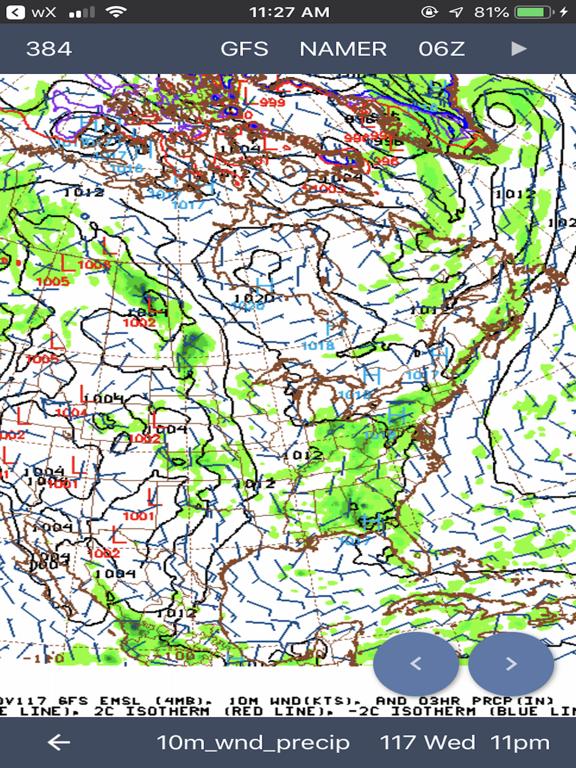 NOAA Weather Radar & Forecast screenshot 9