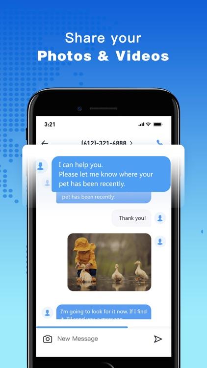 Phone Number-Texting+Call Line screenshot-3