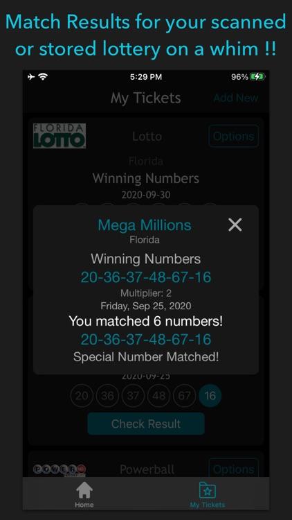Florida Lottery Scan & Results screenshot-3