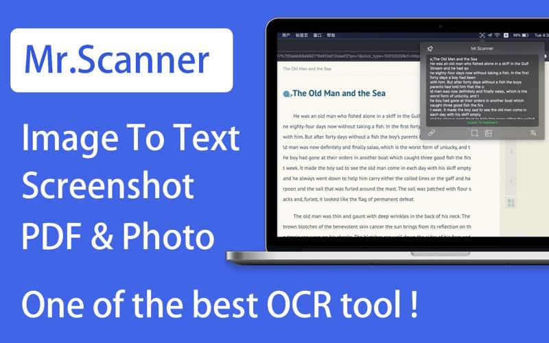 Mr.Scanner - OCR & Translate скриншот программы 1