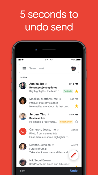 Gmail - Email by Google app image