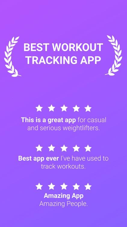 1RM Workout Tracker Gym Log