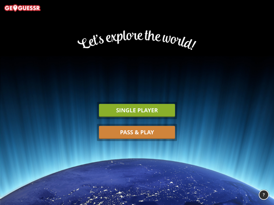 iPad Image of GeoGuessr