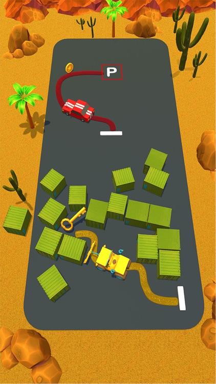 Perfect Parking Path Jam 3D screenshot-4