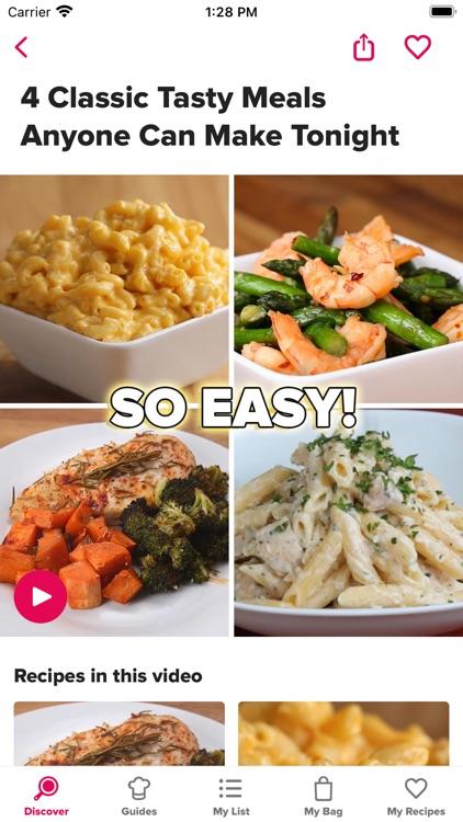 Tasty: Recipes, Cooking Videos screenshot-8