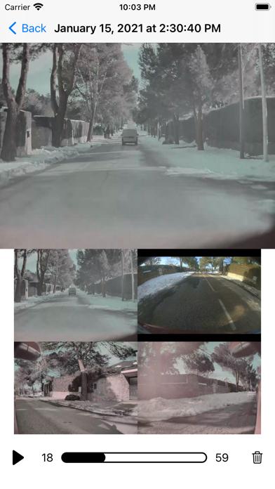 Dashcam Viewer for Tesla EV Screenshot