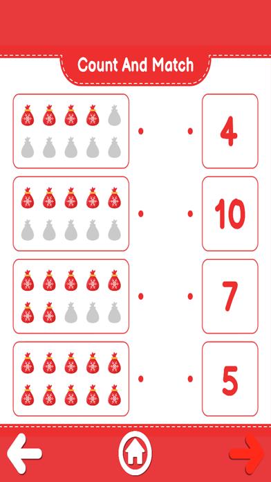 Count And Match XMas screenshot 2