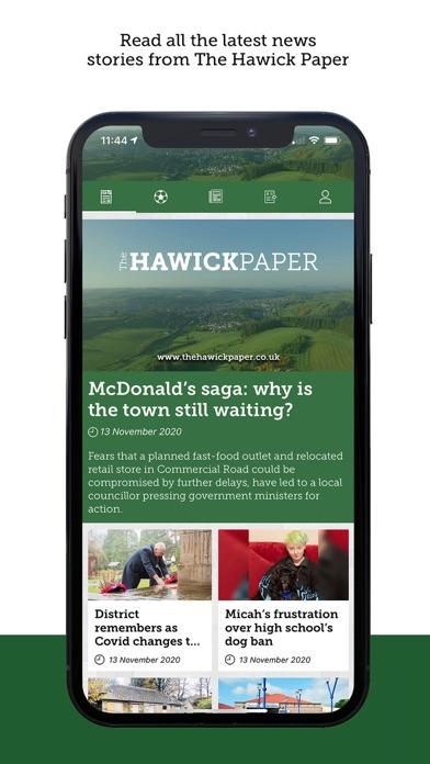 The Hawick PaperScreenshot of 1