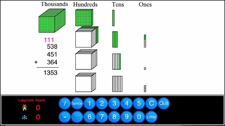 4th Grade Math - Math Galaxy screenshot-0