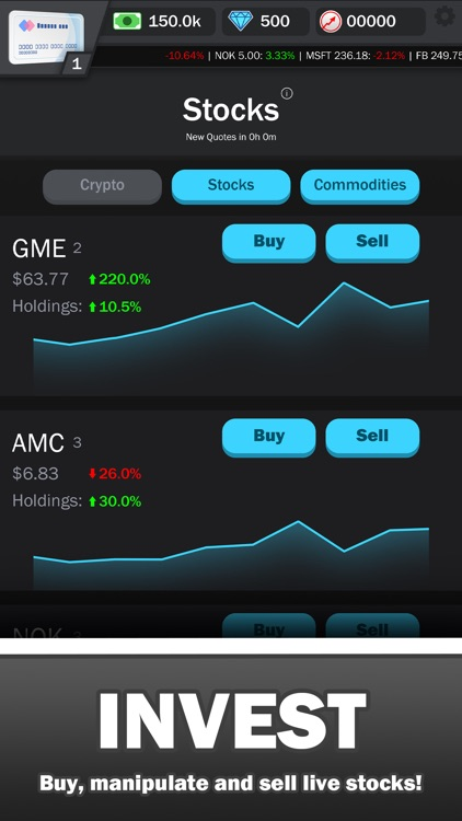 WallStreetBets Simulator screenshot-2