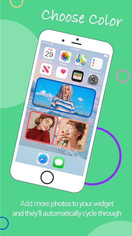 Photo Widgets. Phone app screenshot-3