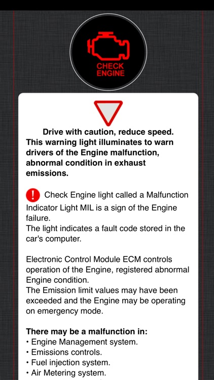 Land Rover Warning Lights Info screenshot-4