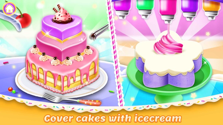 Ice Cream Cake Maker chef