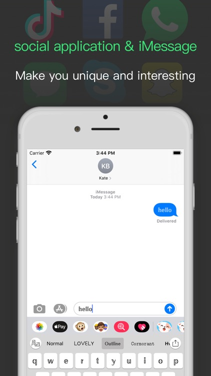 Fonts & Fun Emoji Keyboard screenshot-3