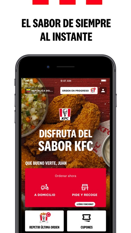 KFC APP (Ecu, Col, Chi, Arg) screenshot-1