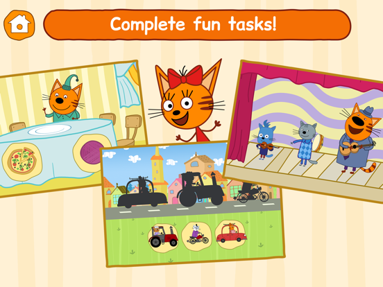 Ipad Screen Shot Kid-E-Cats: Little Kids Games! 4