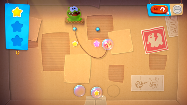 ‎Cut the Rope Remastered Screenshot