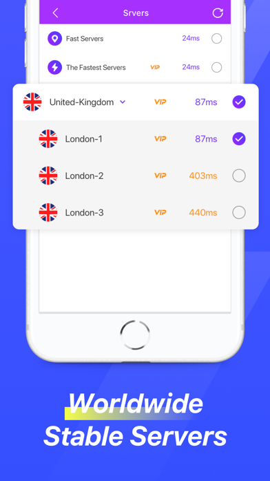 VPN - Fast Proxy Master Shieldلقطة شاشة3